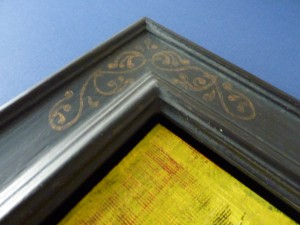 Schattenfugenrahmen mit normalem Rahmenprofil